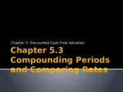 Chapter 5.3 Comparing rates- The effect of compounding periods.pptx