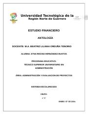 antologia estudio financiero