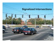 Signalized Intersections Review Part 2