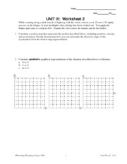 p18 name date pd uniformly accelerated particle model worksheet. Black Bedroom Furniture Sets. Home Design Ideas