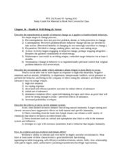 Social psych book Study  Guide 3 Spring 2013