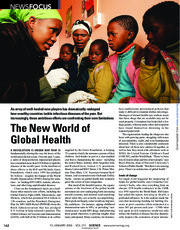 Cohen The New World of Global Health