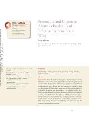 Personality and cognitive ability as predictors of effective performance at work.pdf