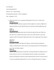 Assignment step 1 developing proposal idea-Erica Buckman GW.docx