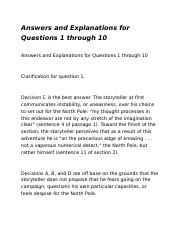 Answers and Explanations for Questions for reading test 2.docx