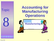 BKAF1023_Topic_8B_Manufacturing_Operations