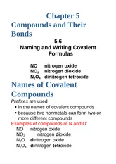 5.6+Naming+and+Writing+Covalent+Formulas