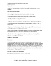 SolutionManual_SupplyChainMgmt_ALogisticsPerspective_9Ed_by_Coyle_Langley_Chapter16