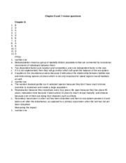 Chapter6and7reviewquestions