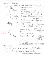 Model solution to Practice Exam I