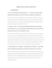English Literature Final Exam Study Guide-4