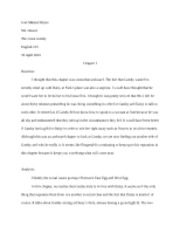 The Great Gatsby Journals Chapters 5-7