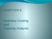 CH09 Inventory Costing and Capacity Analysis