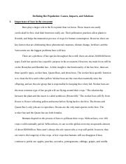 Importance of Bees Project (Collective Essays).docx
