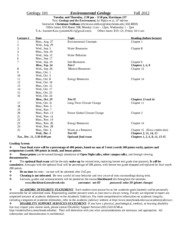 Geology 101 Syllabus Fall 2012 (3)