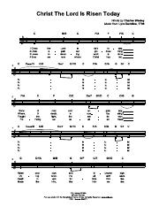 Christ The Lord Is Risen Today- LEAD SHEET- Key C.pdf