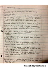 Psych201 Chapter 3 Outline