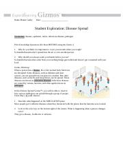Gizmo - Diseases Spread - Name:Hunter Guthy Date Student ...