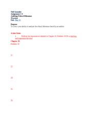 Neil Gonzales, ACCT 470-V2WW, Assignment 2-4 Final