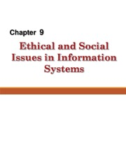 8 - Ethical and Social issues