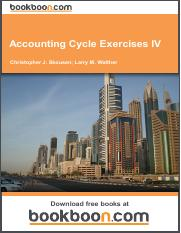 accounting cycle exercises i Download free ebooks at bookbooncom 2 larry m walther & christopher j skousen accounting cycle exercises i.