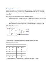 Functions of Combinational Logic Chpt 8 Guided Notes