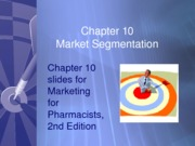 Chapter10-Marketing Segmentation