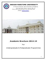 IMU Academic Brochure FINAL