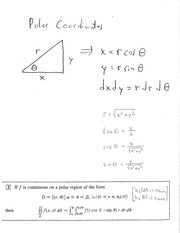 16.4 Polar Coordinates and Polar Integration Problems
