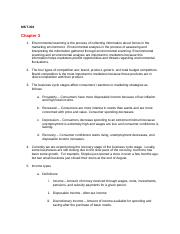 MKT 301- Chapter 3-4 Discussion and Review Questions KB.docx