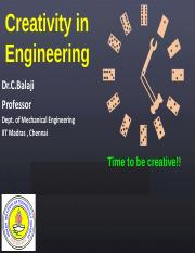 Creativity in Engg-Sep2014