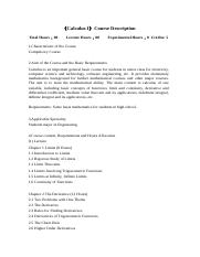 Calculus I Course Description and Syllabus.doc