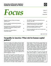 Heckman Focus summary of Hum Cap policy article