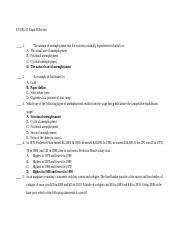 ECON 211 Exam 2 Review Solutions.docx