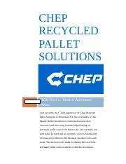 CHEP Recycled Pallet Solutions.docx