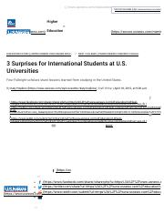 3 Surprises for International Students ...Universities | Best Colleges | US News.pdf