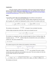 1. Introduction to Calculus I Labs