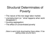 Structural Determinates of Poverty2