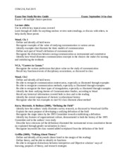 Exam One Study Guide_COM216.doc