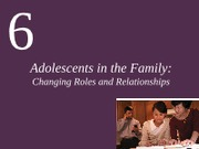 CH6 Adolescents in the Family