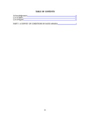 Econ Development - Final Paper - Table of Contents
