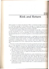 RISK ND RETURN-1