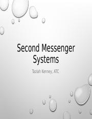 Second Messenger System Review 2.ppt