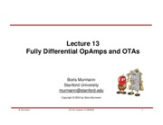 Lecture 13-Fully differential amplifier