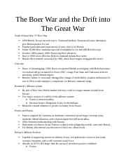 12-1(The Boer War and the Drift into The Great War).docx