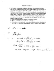 Final Exam Solution on Mathematicsl Methods in Physics