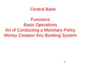 Central bank lecture