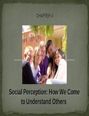Chapter 4 - Social Perception copy.ppt