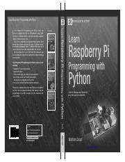 Learn Raspberry Pi Programming with Python.pdf