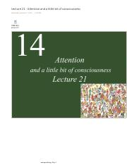Lecture 21 - Attention and a little bit of consciousness.pdf